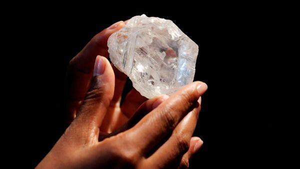 Lesedi La Ronа, největší diamant na světě - Sputnik Česká republika