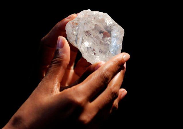 Lesedi La Ronа, největší diamant na světě
