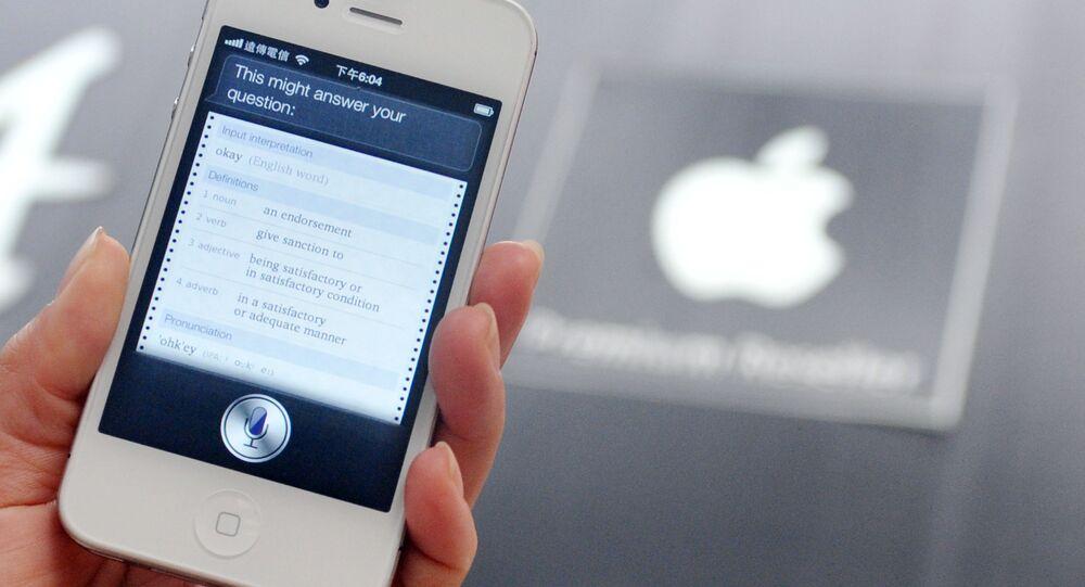 Hlasová asistentka Siri od Apple