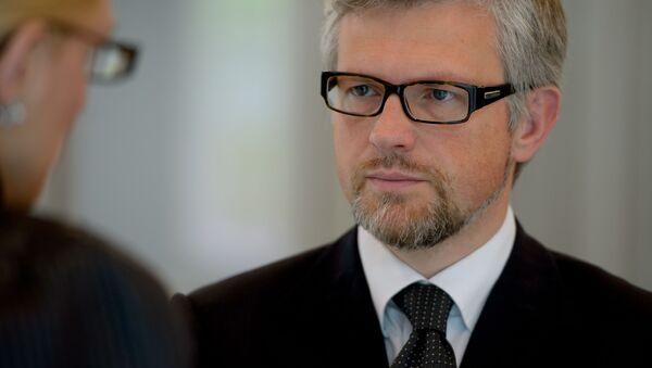 Ukrajinský velvyslanec v Německu Andrej Melnik - Sputnik Česká republika