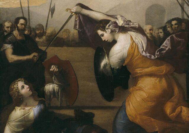 Obraz José de Ribera Ženská duel