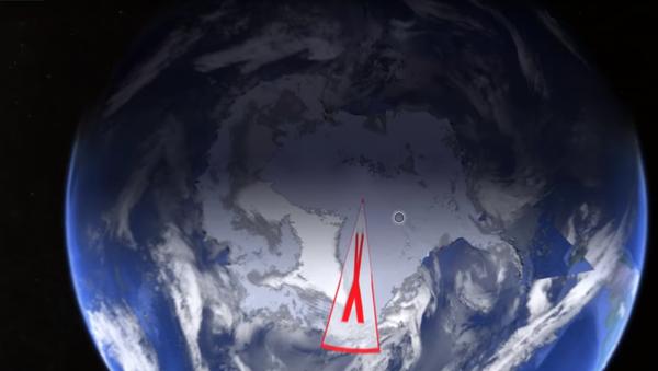 Konspirologové objevili pokus Google odhalit tajemství Antarktidy - Sputnik Česká republika
