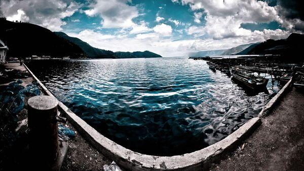 Supervulkán a jezero Toba, Indonésie - Sputnik Česká republika