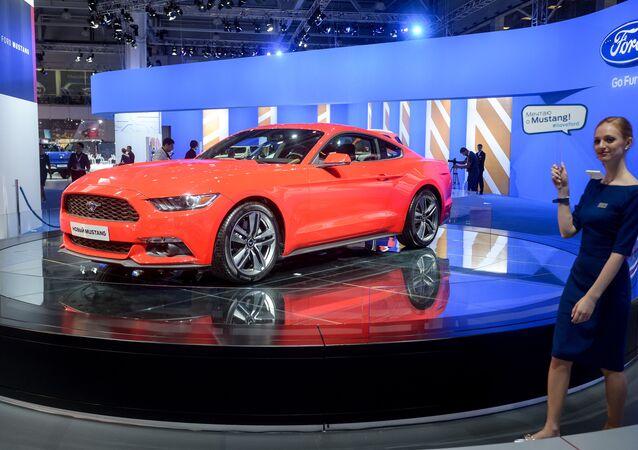 Ford Mustang na Moskevském mezinárodním autosalonu