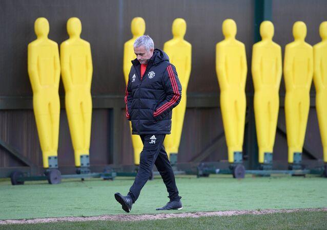 Trenér José Mourinho