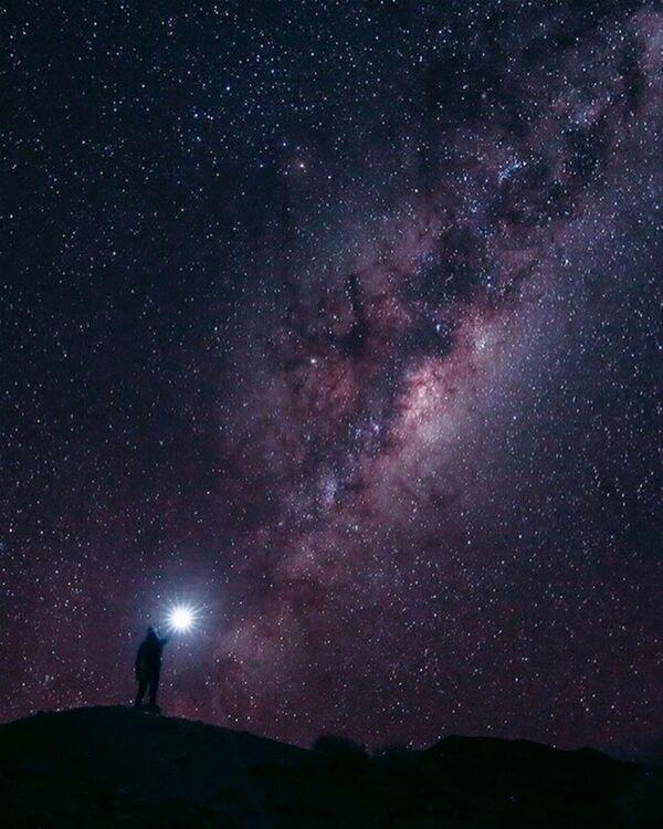 Fotografie hvězdného nebe v Jihoafrické republice - Sputnik Česká republika