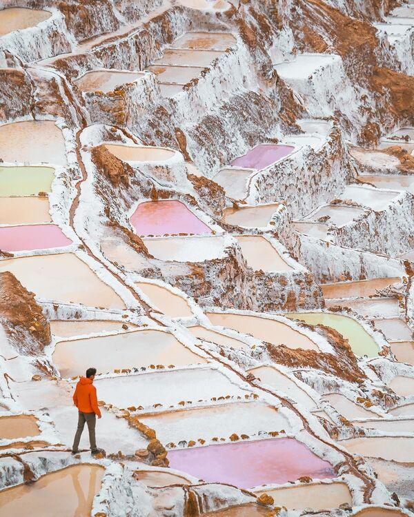 Peruánská krajina na fotografii projektu - Sputnik Česká republika