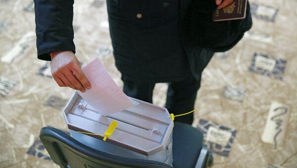 Předčasné hlasování ve volbách prezidenta v Rusku. Ilustrační foto - Sputnik Česká republika
