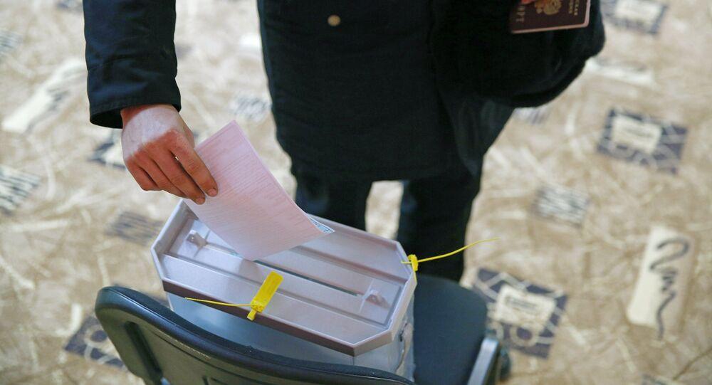 Předčasné hlasování ve volbách prezidenta v Rusku