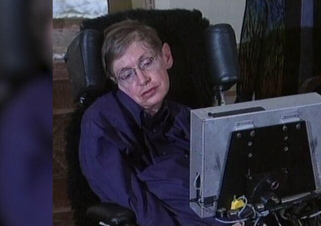Legendární Stephen Hawking