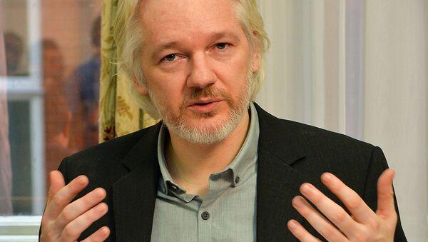Julian Assange - Sputnik Česká republika