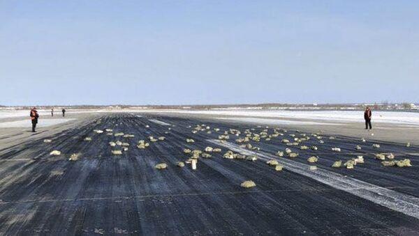 Přistávací dráha letiště ruského Jakutsku - Sputnik Česká republika