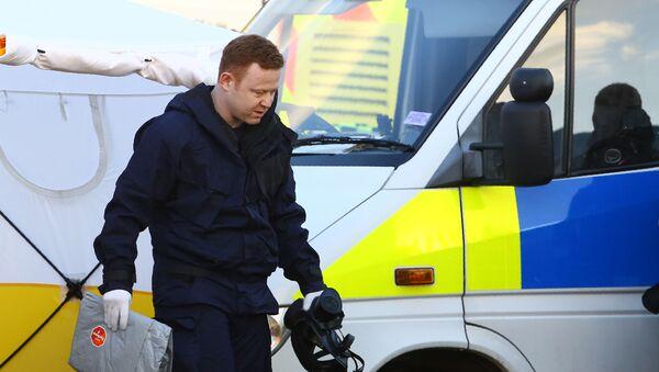 Práce policie v případu Skripala v Salisbury - Sputnik Česká republika