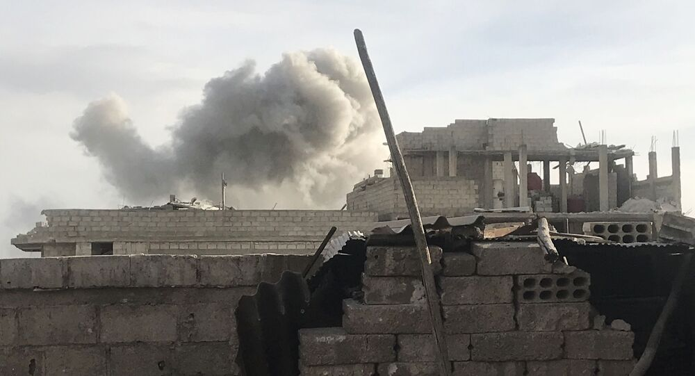 Syrská armáda útočí na teroristické uskupení Fronta an-Nusrá ve východní Ghútě