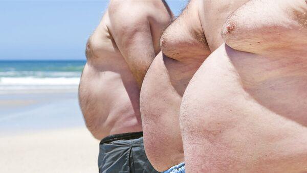 Muži s nadváhou - Sputnik Česká republika