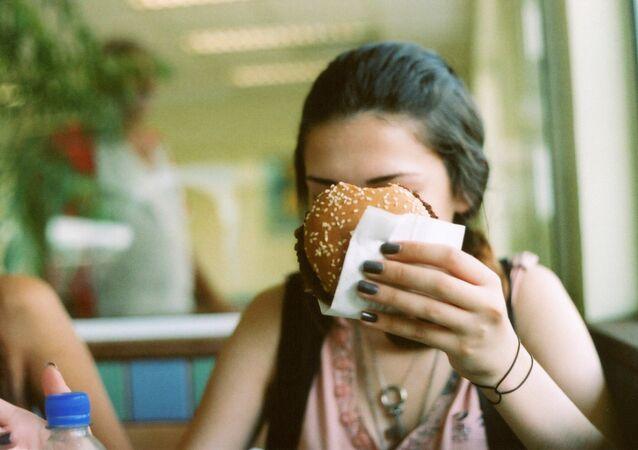 Fast food, ilustrační foto