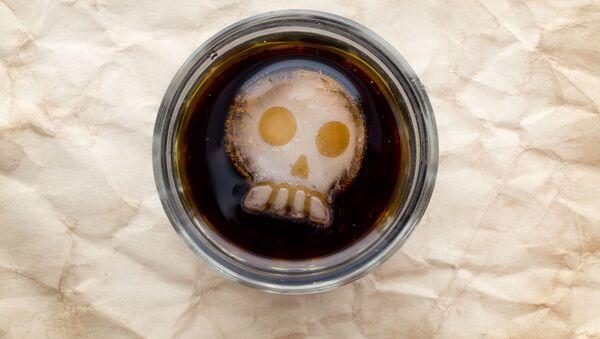 Напиток со льдом в форме черепа - Sputnik Česká republika