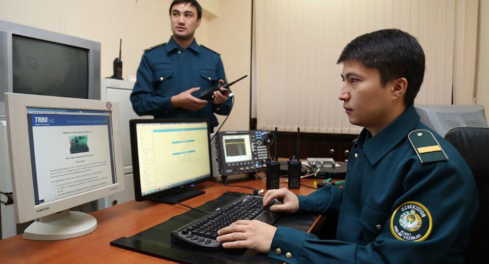 Uzbečtí policisté