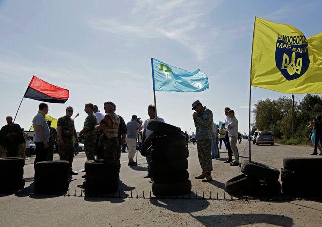 Lebensmittelblockade der Krim