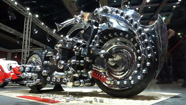 To není motocykl, ale opravdový kus umění! - Sputnik Česká republika