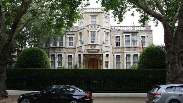 Budova ambasády RF v Londýně - Sputnik Česká republika