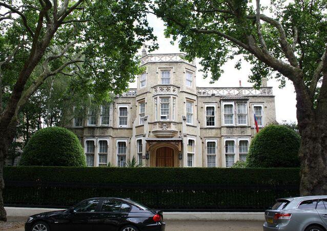 Ruská ambasáda v Londýně