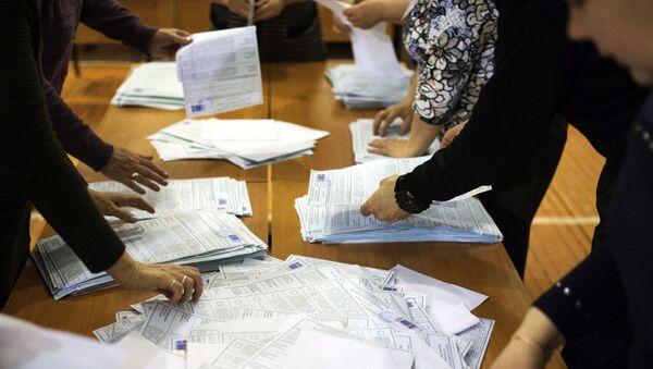 Volební lístky - Sputnik Česká republika