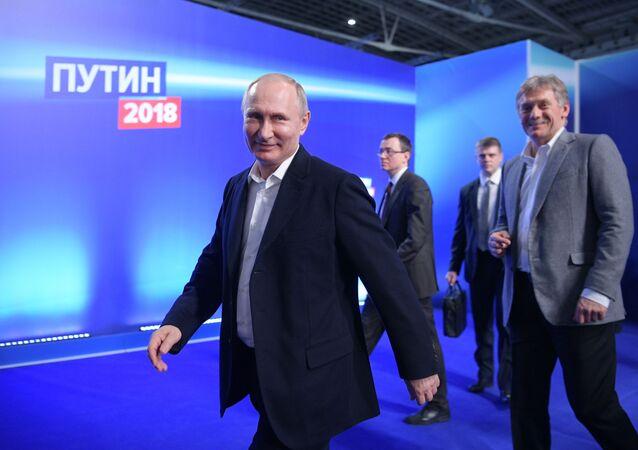 Prezident Ruska Vladimir Putin