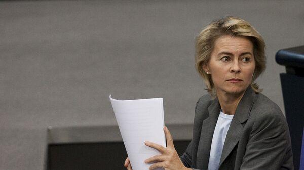 Německá ministryně obrany Ursula von der Leyenová - Sputnik Česká republika
