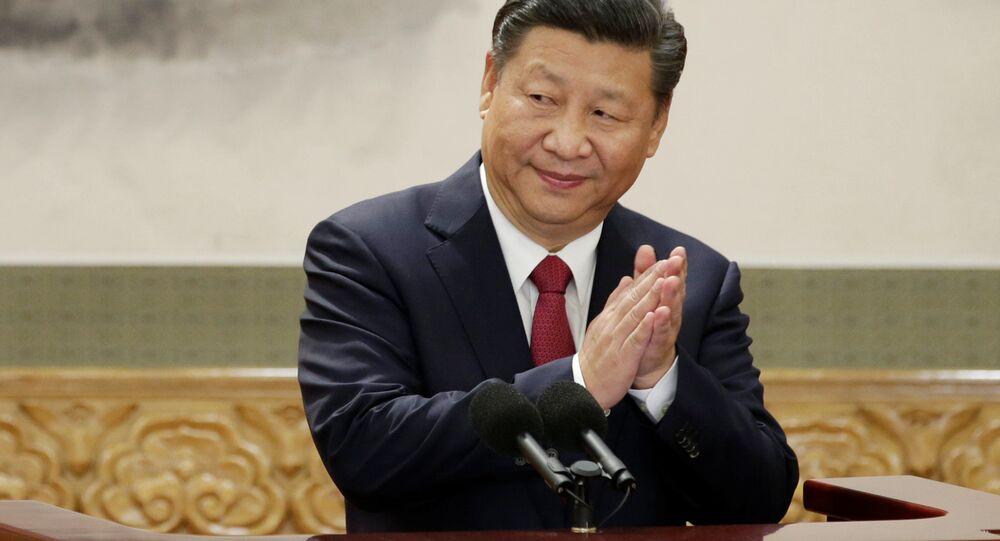 Předseda Čínské lidové republiky Si Ťin-pching