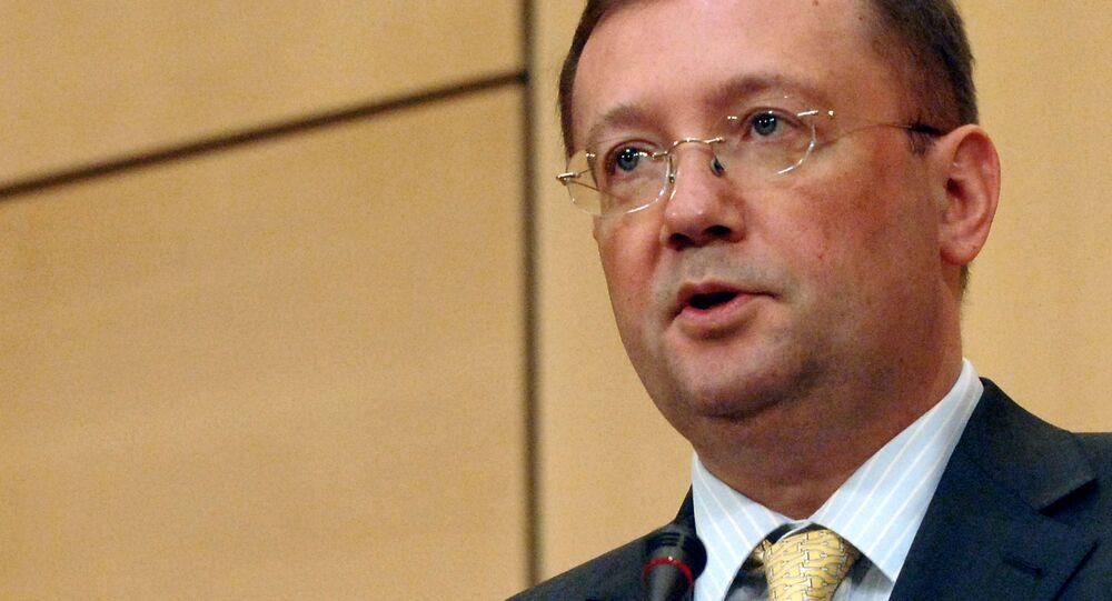 Ruský velvyslanec v Londýně Alexandr Jakovenko
