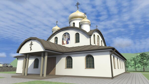 Pravoslávny chrám. Ilustrační foto - Sputnik Česká republika