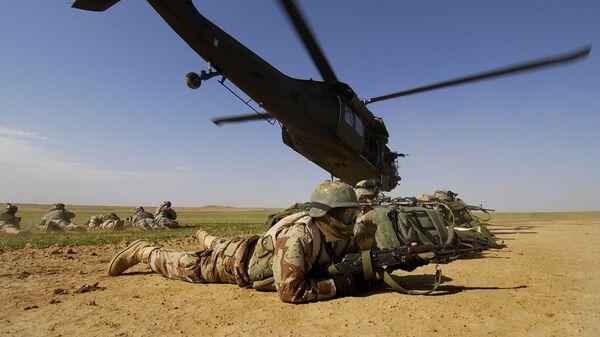 Vojáci USA v Afghánistánu - Sputnik Česká republika
