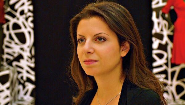 Šéfredaktorka RT a Sputniku Margarita Simoňanová. Ilustrační foto - Sputnik Česká republika