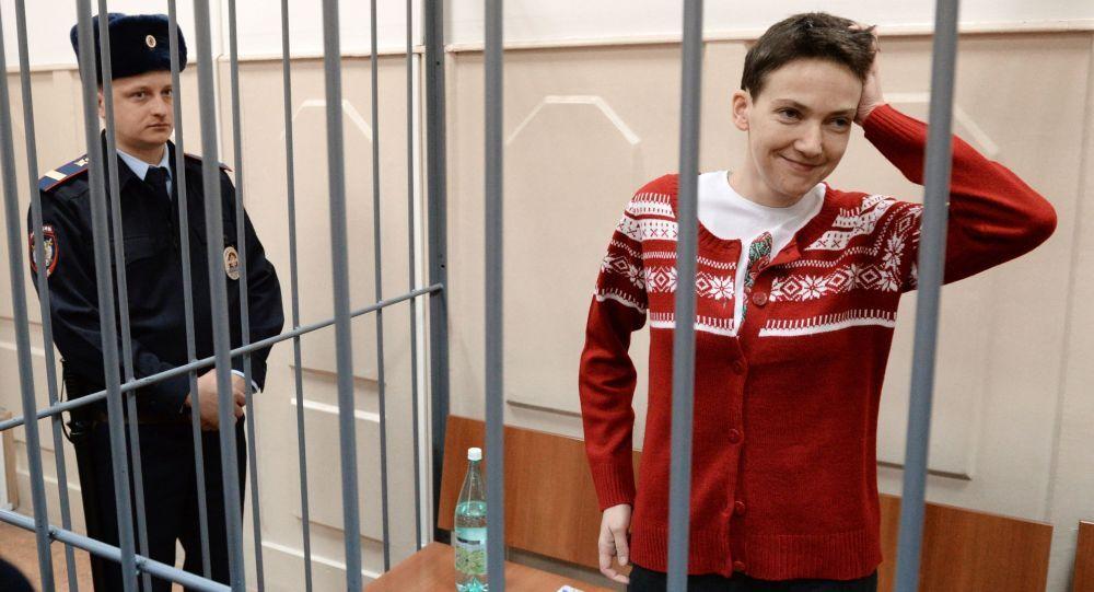 Pilotka Naděžda Savčenková