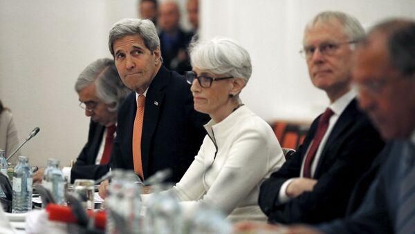 Účastníci jednání s Iránem ve Vídni - Sputnik Česká republika