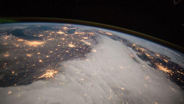 Pohled na Velká jezera z ISS - Sputnik Česká republika