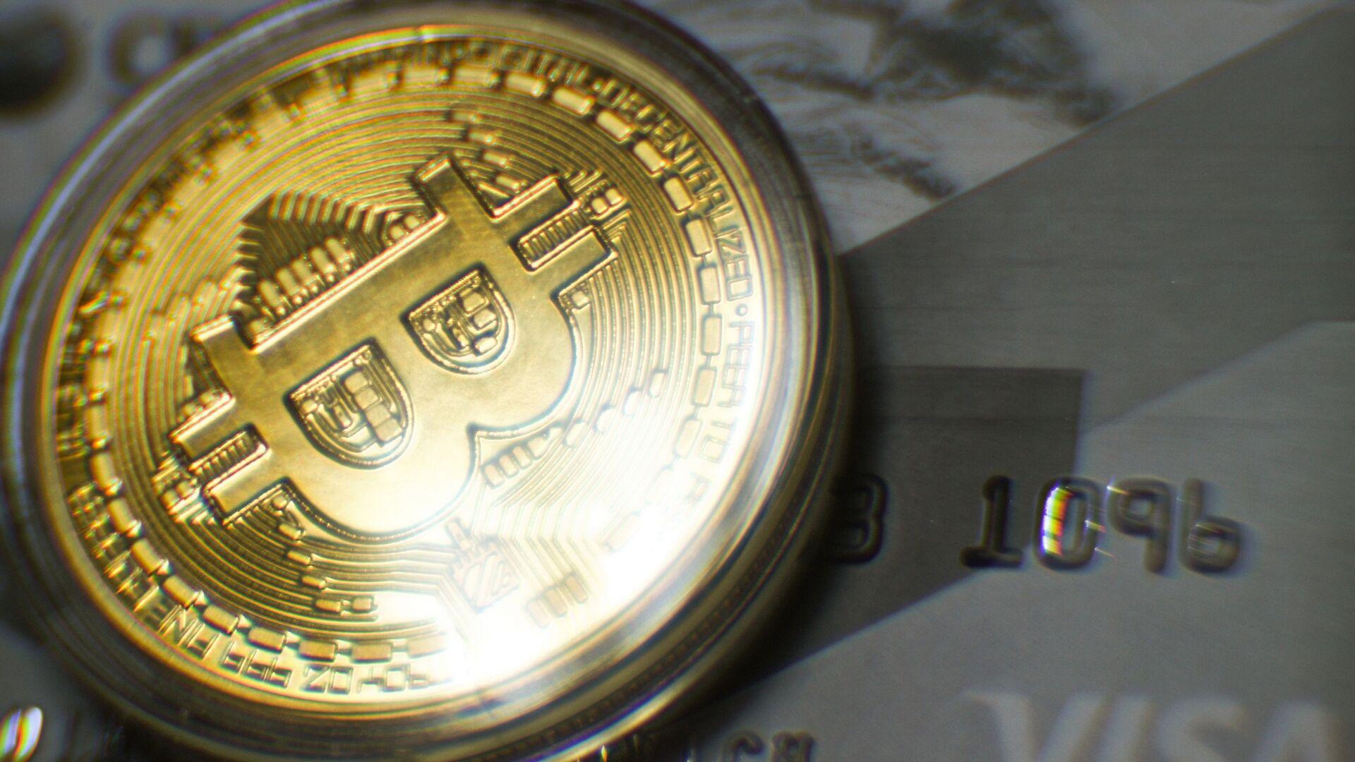 Mince bitcoinu - Sputnik Česká republika, 1920, 04.06.2021