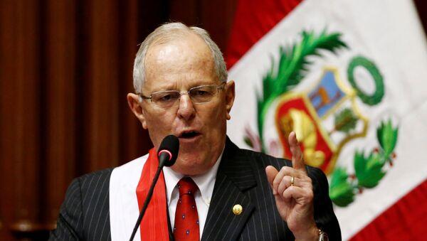 Prezident Peru Pablo Kuczynski - Sputnik Česká republika