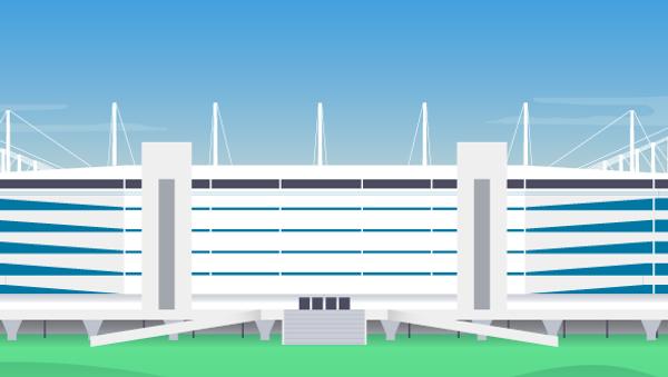 Stadion Kaliningrad - Sputnik Česká republika