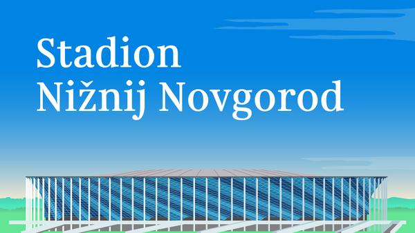 Stadion Nižnij Novgorod - Sputnik Česká republika