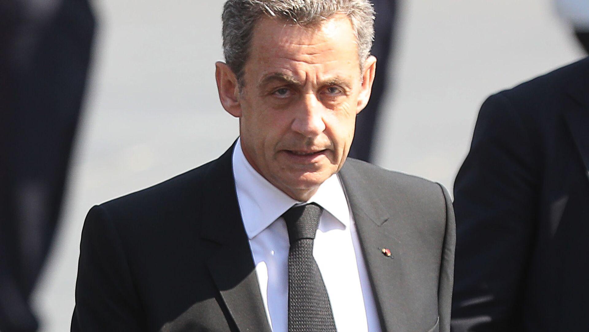 Bývalý francouzský prezident Nicolas Sarkozy  - Sputnik Česká republika, 1920, 01.03.2021