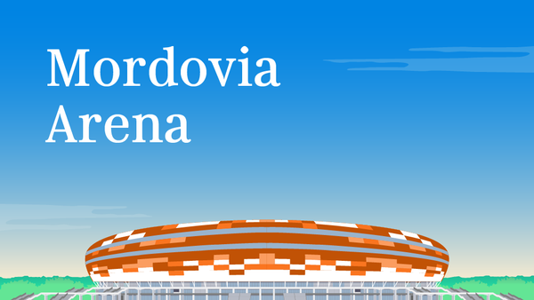 Mordovia Arena - Sputnik Česká republika