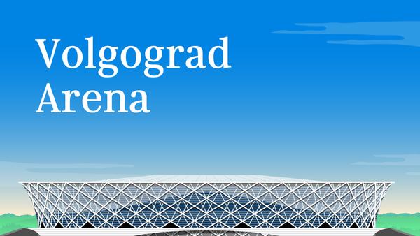 Volgograd Arena - Sputnik Česká republika