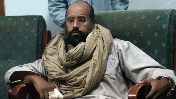 Sajf al-Islám v zajetí v Libyi - Sputnik Česká republika