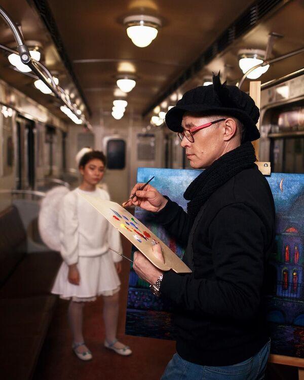 Neuvěřitelná atmosféra petrohradského metra - Sputnik Česká republika