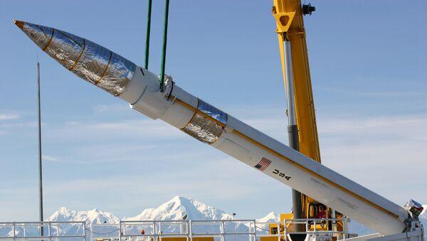 Americká raketa na Aljašce - Sputnik Česká republika
