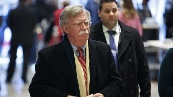 Poradce amerického prezidenta pro národní bezpečnost John Bolton - Sputnik Česká republika