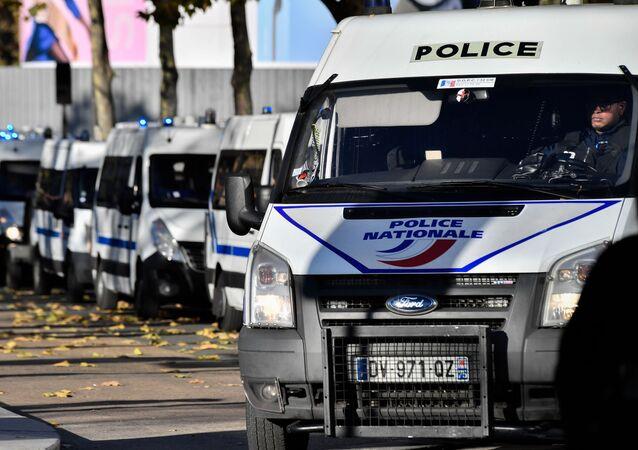 Auta francouzské policie
