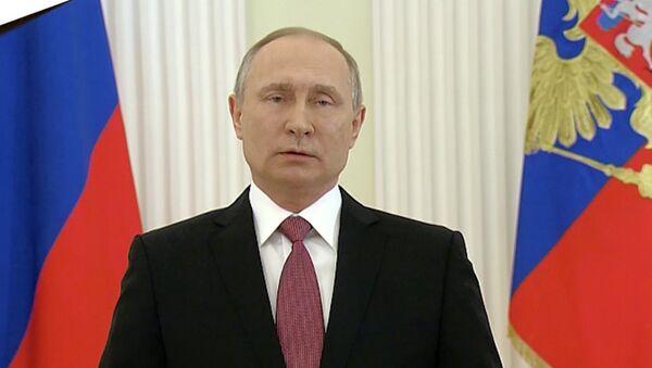 Poslání Vladimira Putina Rusům - Sputnik Česká republika